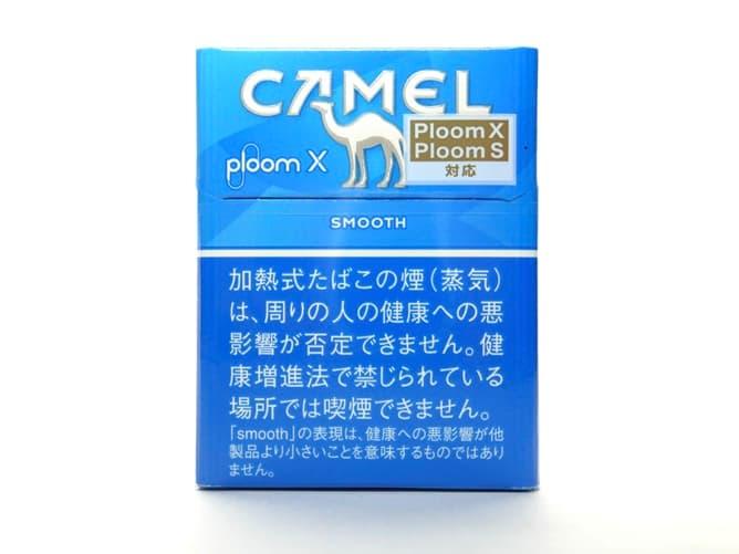 Ploom X(プルームエックス)専用フレーバー キャメル・スムースを吸ってみた