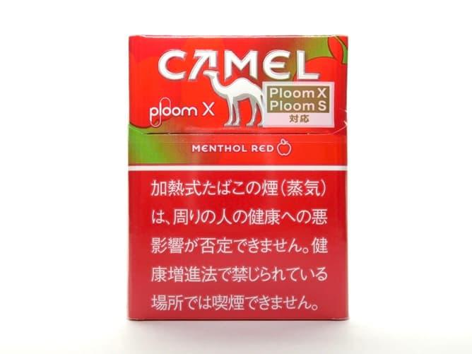 Ploom X(プルームエックス)専用フレーバー キャメル・メンソール・レッドを吸ってみた