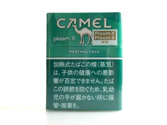 Ploom X(プルームエックス)専用フレーバー キャメル・メンソール・コールドを吸ってみた
