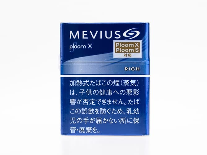PloomXの新フレーバー(メビウス・リッチ)
