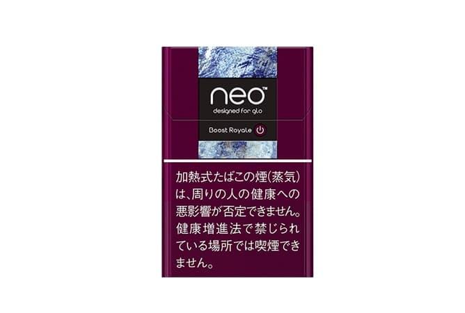 グロープロ/ナノ用フレーバー neoネオ・ブースト・ロイヤル・プラ ス・スティック