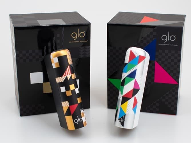 日本国内限定デザイン gloHyper+ 東京・ユナイテッド・エディション 東京の文字が浮かびあがる仕様