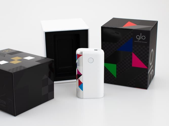日本国内限定デザイン gloHyper+ 東京・ユナイテッド・エディションのパッケージ