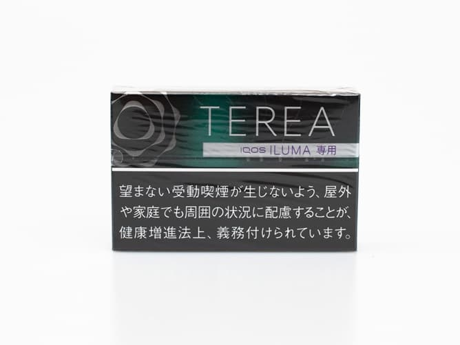 IQOSイルマ専用 テリア スティック ブラック メンソール