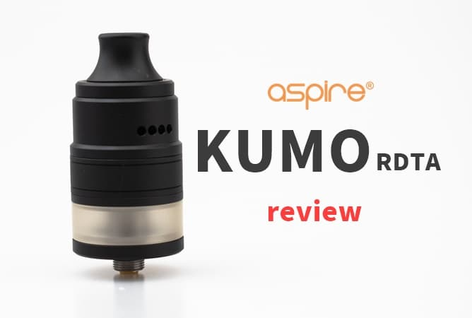 Aspire KUMO RDTA レビュー
